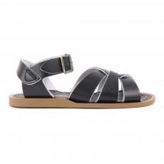 Sandales Waterproof Croisées Cuir Original Noir