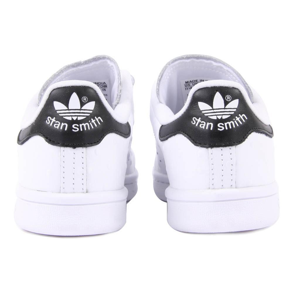 Adidas Stan Smith Schwarz Klettverschluss