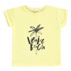 T-shirt Venice Beach Jaune citron