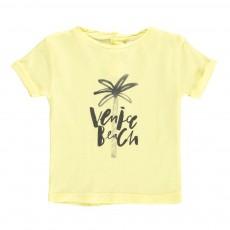 T-shirt Venice Beach Bébé Jaune citron