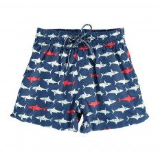 Short de Bain Sharky Boy Bleu marine