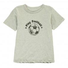T-Shirt Football Tom Gris chiné