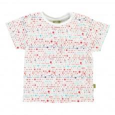 T-Shirt Pois Easy Tiger Blanc
