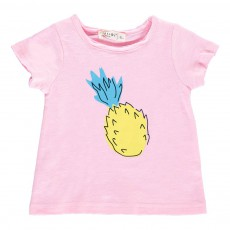 T-shirt Ananas Lucas Rose