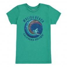 T-shirt Surfer Vert