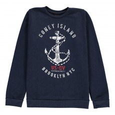 Sweat Ancre Bleu marine