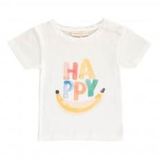 T-shirt Happy Bébé Ecru