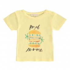 T-shirt Royal Summer Bébé Jaune citron