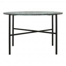Table plateau marbre D70 cm Vert