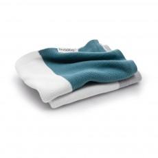 Couverture légère en coton 80x100 cm Bleu pétrole