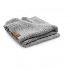 Couverture en laine 80x100 cm Gris clair