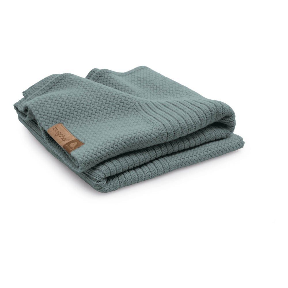 couverture en laine 80x100 cm bleu p trole bugaboo univers b b smallable. Black Bedroom Furniture Sets. Home Design Ideas