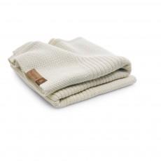 Couverture en laine 80x100 cm Blanc cassé