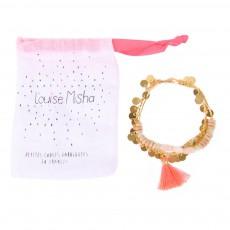 Bracelet Pompon Epice  - Collection Ado et Femme - Rose