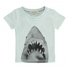 T-shirt Jaws Bébé Bleu ciel
