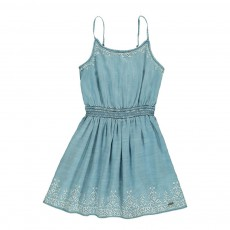 Robe Chambray Debby Bleu