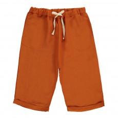 Short Lien Taille  Orange