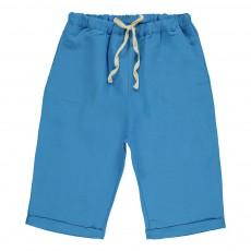 Short Lien Taille  Bleu ciel