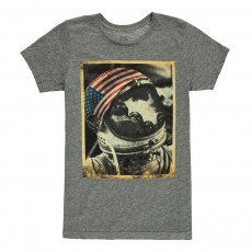 T-Shirt Mont Rushmore Gris