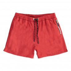 Short de Bain Happy Rouge