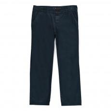 Pantalon Chino Bleu indigo