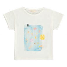 T-shirt Swimming Pool Ecru