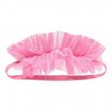 Headband Tulle Rose