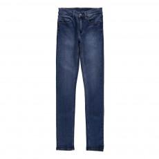 Jean Slim Taille Medium Tight Bleu jean