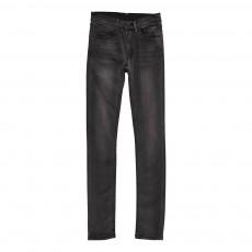 Jean Slim Taille Medium Tight Gris