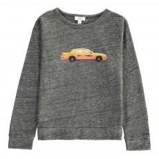 T-Shirt Taxi Gris chiné foncé