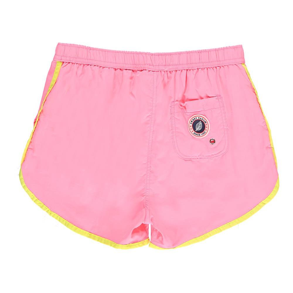 short de bain holliday rose fluo sweet pants mode enfant smallable. Black Bedroom Furniture Sets. Home Design Ideas