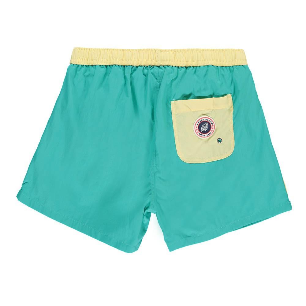 short de bain spring bleu turquoise sweet pants mode enfant smallable. Black Bedroom Furniture Sets. Home Design Ideas
