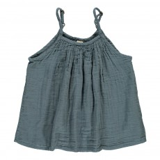Top Mia Bleu gris