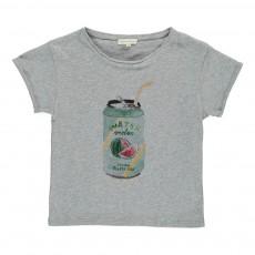 T-shirt Watermelon Gris chiné
