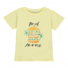 T-shirt Royal Summer Jaune citron