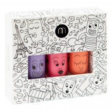 Pack 3 vernis City Kanako, City et Dori Multicolore