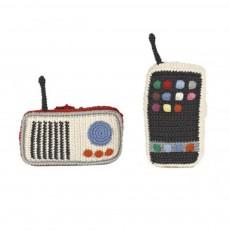 Téléphone portable Multicolore