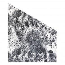 Porte-revues en carton Marbré noir