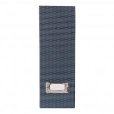 Porte-revues en carton Bleu
