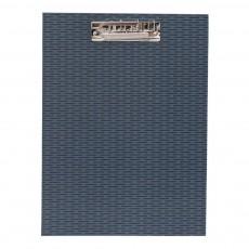Porte-documents en carton Bleu