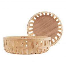 Panier - Set de 2 Naturel