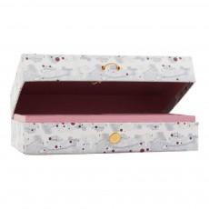 Boîte à bijoux Marbré blanc