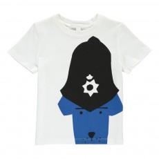 T-Shirt Police Dog Blanc