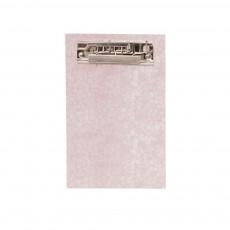 Mini porte-documents en carton Rose