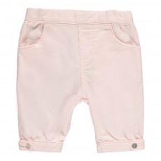 Pantalon Velours Léger Rose pâle