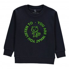 Sweat London Kid - Collection Enfant - Bleu marine