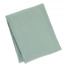 Nappe en lin lavé Bleu Vert