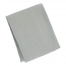 Nappe en lin lavé Bleu gris