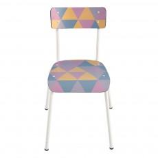 Chaise adulte Suzie - Imprimé Géométrique Multicolore