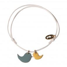 Bracelet Réglable Birds Blanc